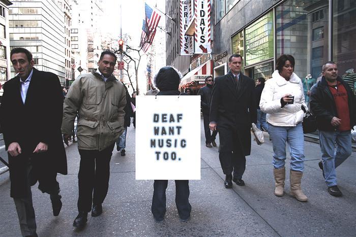 Deaf Want Music Too