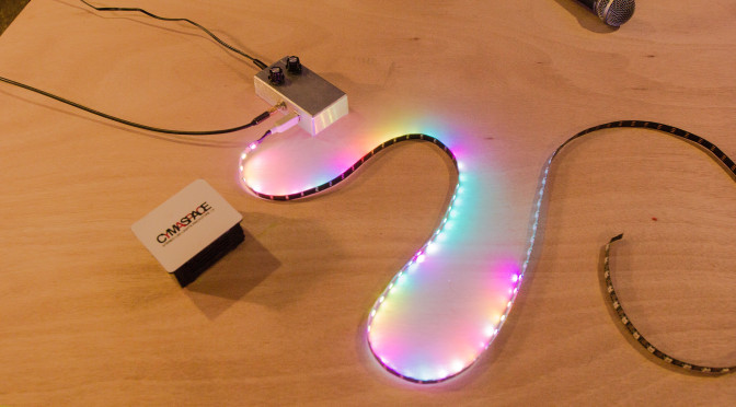 """Cymatic Lighting – A Modern """"Visual Sound"""" System for Deaf & Hard-of-Hearing"""