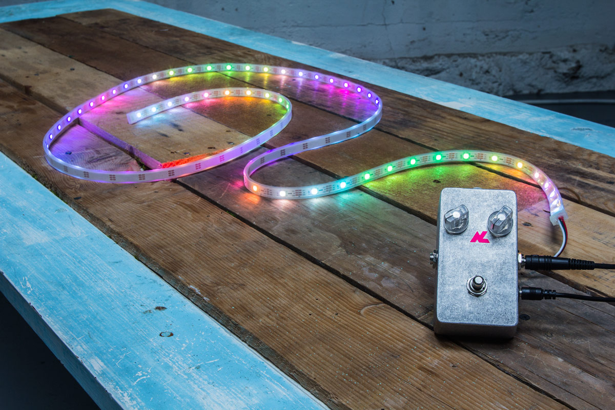 Audiolux One | The first-ever effects unit for sound-reactive visuals.